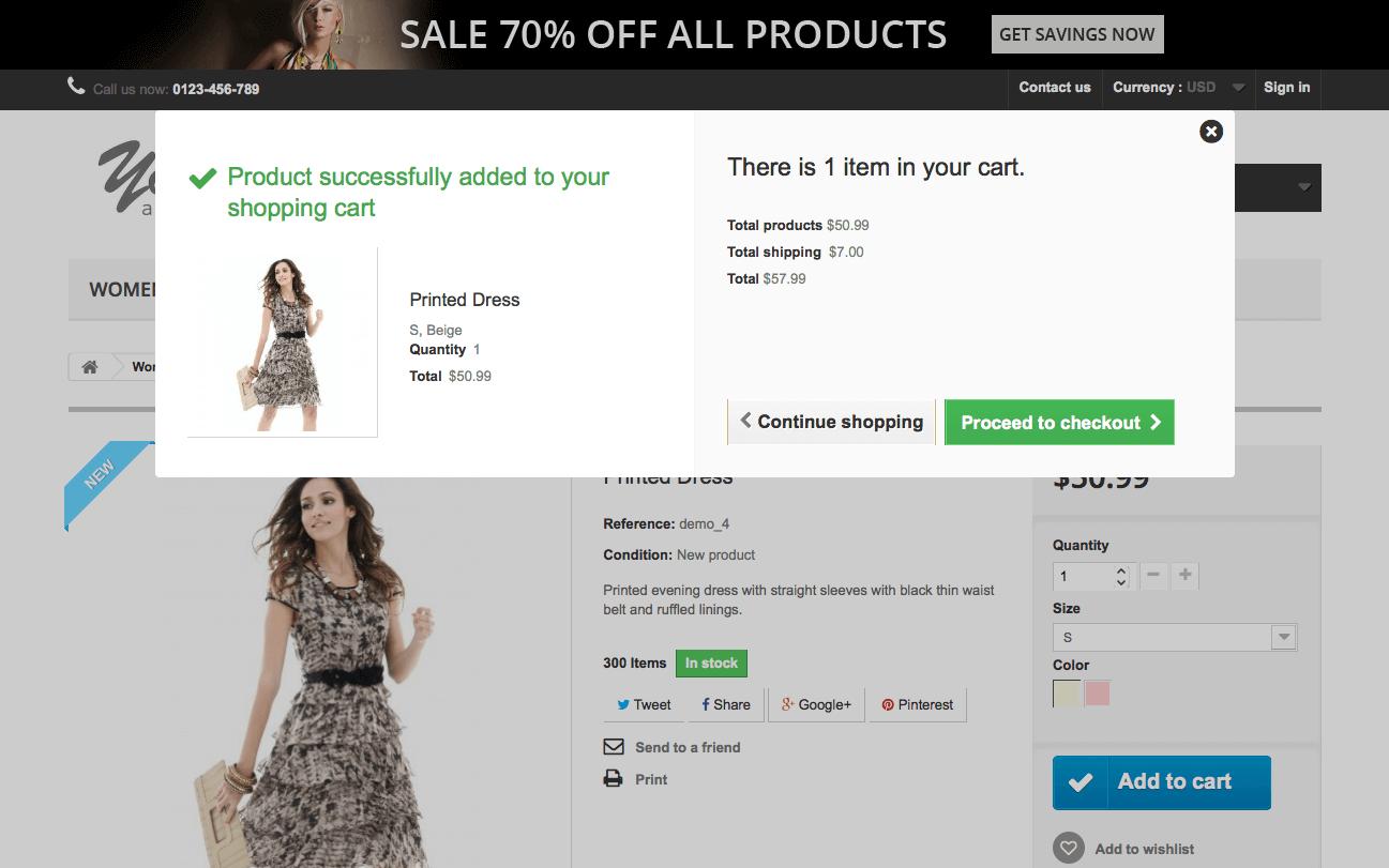 online shops PrestaShop