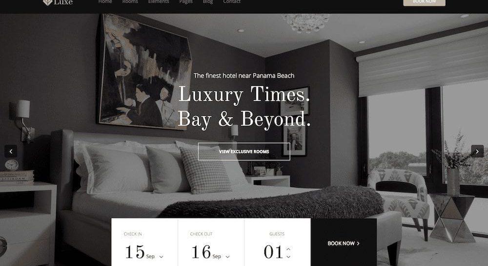 website for hotel